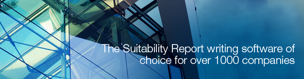 The Suitability Report writing software of choice for over 1000 companies