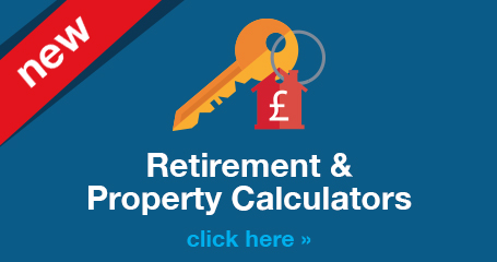 Retirement & Pension and Property & Mortgage Calculators